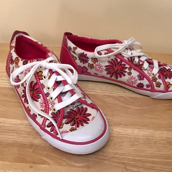 Coach Shoes | Coach Pink Floral