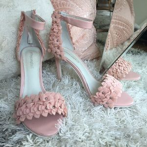 Jeffrey Campbell floral heels