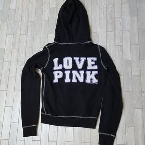 Women's Black And White Vs Pink Sweatshirts on Poshmark