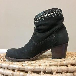 rag & bone Shoes - Rag & Bone Black Suede Ankle Boots