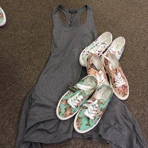 Summer kicks - ked style floral sneakers