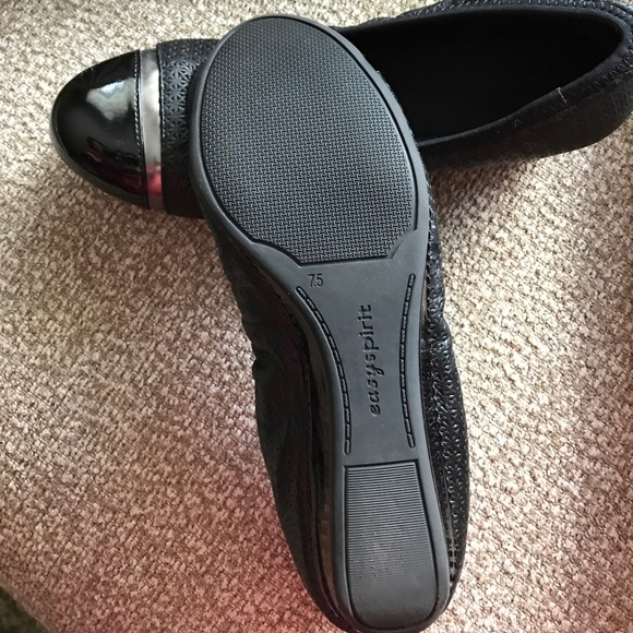 75 easy spirit shoes small wedge black