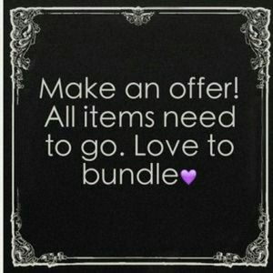 Other - 💕💕💕OFFERS WELCOMED...BUNDLE TO SAVE 💕💕💕