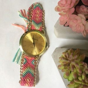 Accessories - Woven band watch