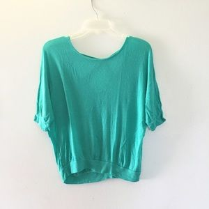 Tops - Turquoise blue blouse