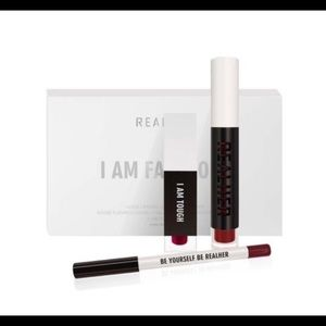 Sephora Makeup - Realher lipstick set nwt I am fabulous deep red