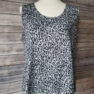 Leopard print 212 collection top