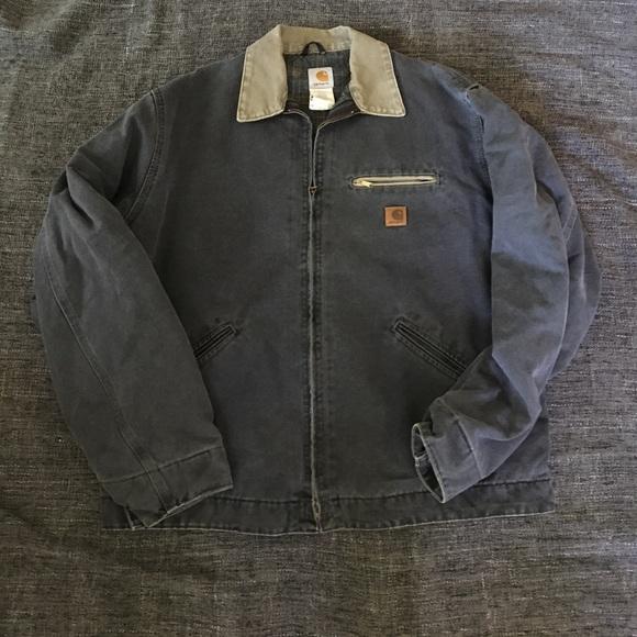 0af61a2f4 Carhartt Sandstone Detroit jacket / blanket lining