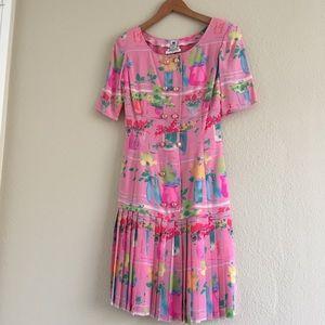 Vintage Parisian Dress