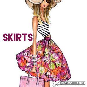 Dresses & Skirts - 💚💜SKIRTS💛💙