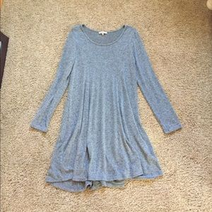 Long sleeve soft dress from Charlotte Russe