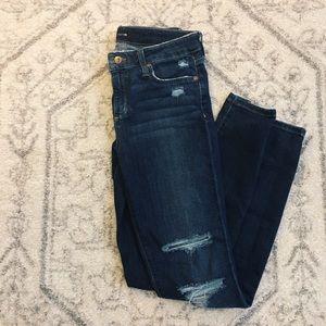 Joe's Skinny Distressed Vivian Jeans