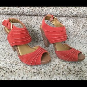 Seychelles Gypsy Heels, Orange