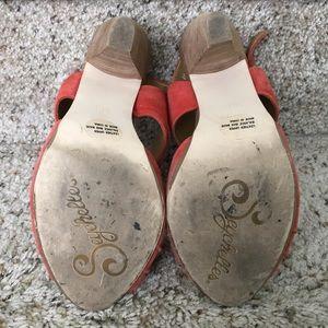 Seychelles Shoes - Seychelles Gypsy Heels, Orange