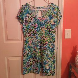 Lilly Pulitzer Daniella Dress Sea Soiree
