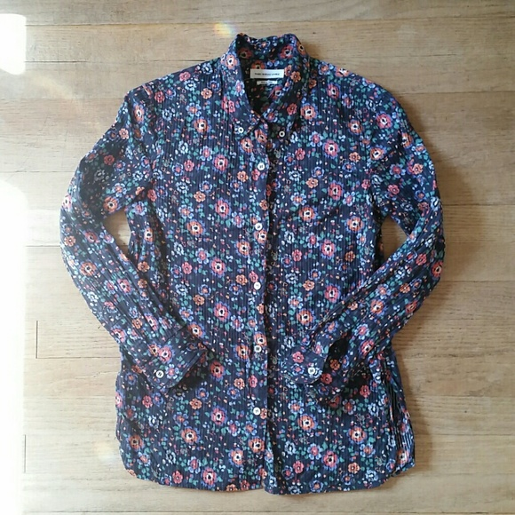 Isabel Marant Tops - Isabel Marant Etoile floral button up