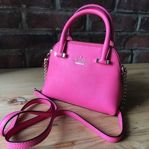 Kate Spade New York Mini Maise in rosy pink