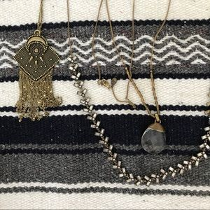 Jewelry - Long necklace bundle (statement).
