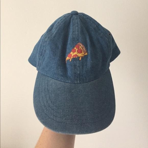 Denim 🍕Pizza Dad Hat. M 596a837a7fab3aa3ae01dc35 ca202cca85c3