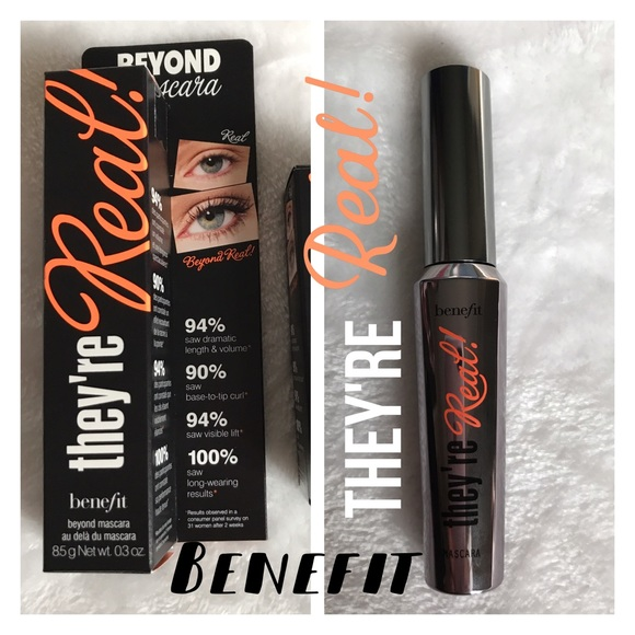 62709ed63ce Benefit Makeup   Theyre Real Mascara Travel Size Nib   Poshmark