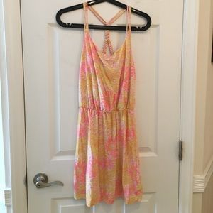 Lilly Pulitzer braided back dress