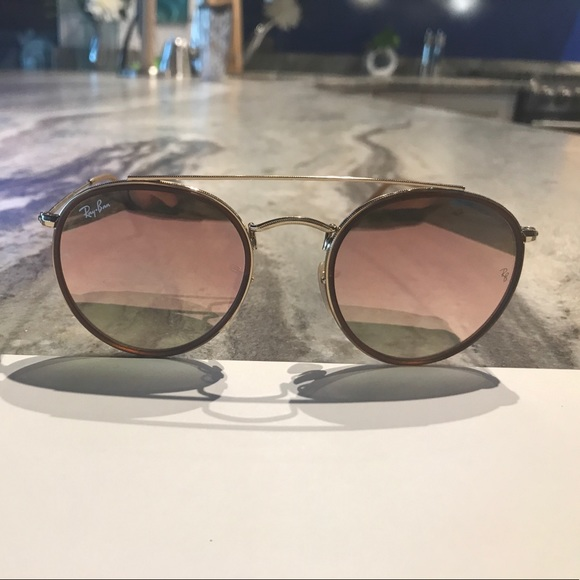 a1bc564d058e ... where can i buy ray ban round double bridge sunglasses f300d aee57