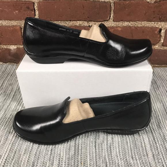 f91765ed2fb Dansko Shoes - Dansko Olivia Black Nappa Leather Shoes