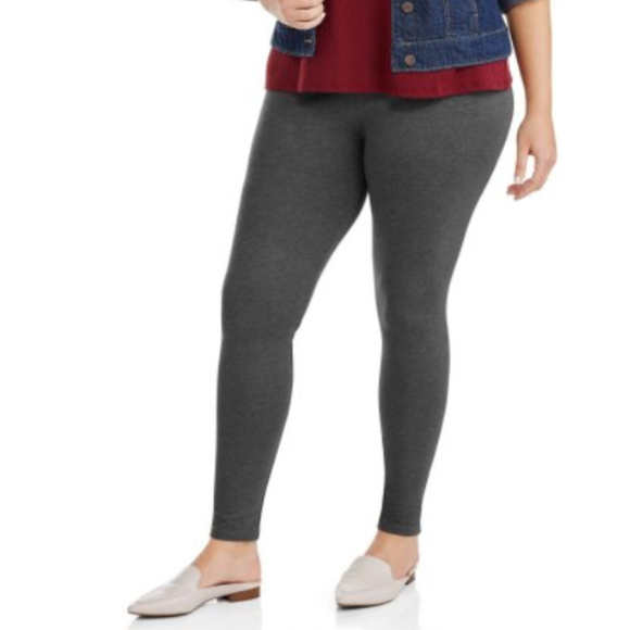 7d6d2f8608be9 Faded Glory Pants   48 Hour Flash Sale Grey Leggings Xl   Poshmark
