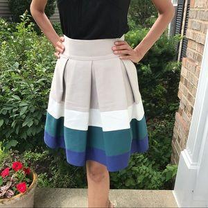 Zara basics beige skirt