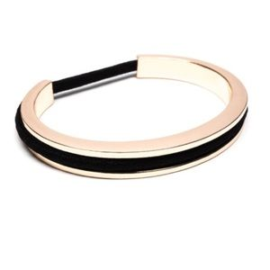 Rose Gold Hair Tie Bracelet NWT