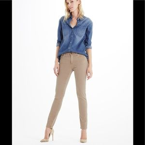 AG Prima Sateen Jeans in Sand