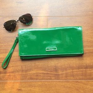 🌺NWT Cole Haan Jelly Bean Green Clutch🌺