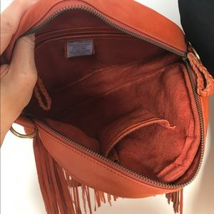 Vintage Bags - 100% Leather Fringe Back Pack