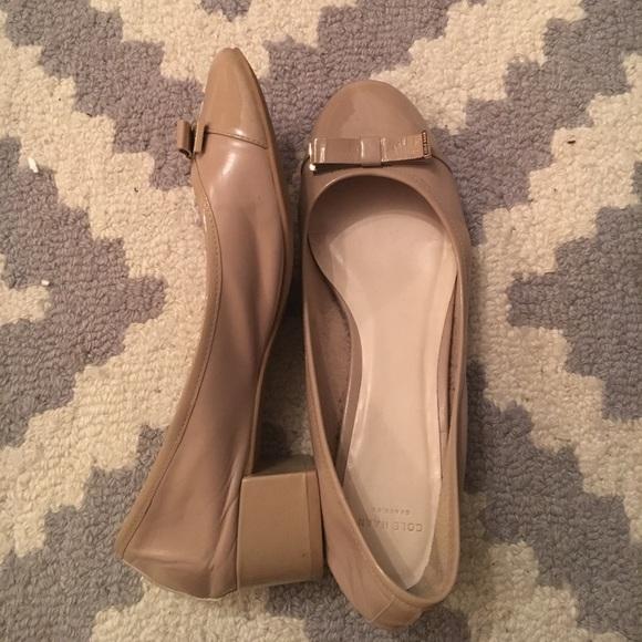 9b76ee12516e Cole Haan Shoes - Cole Haan Kelsey Waterproof Block Heel Pump