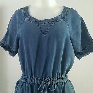 J.CREW JEAN DRESS