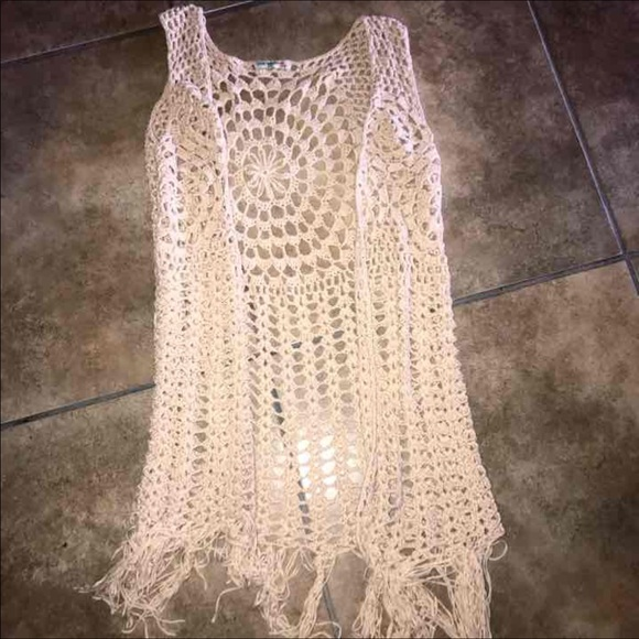 Nordstrom Tops New Womens Knit Bathing Suit Cover Up Poshmark