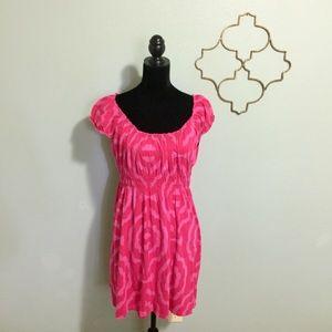 Michael Kors pink print sundress size medium
