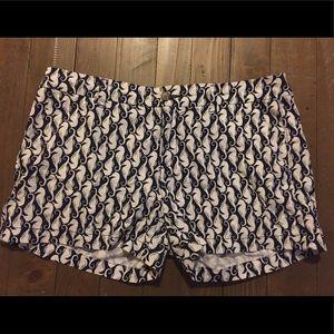 Seahorse Navy Blue Old Navy Shorts