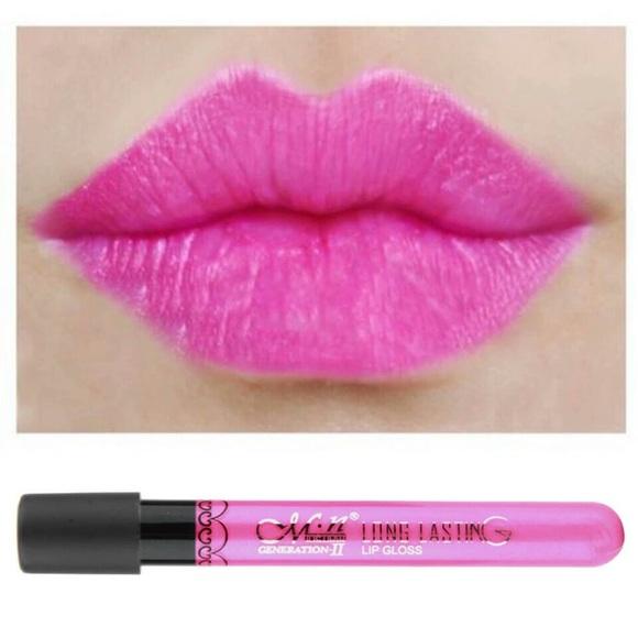 Other - New Hot Pink Waterproof Matte Lip Gloss