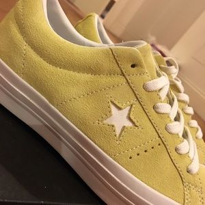 Suede Custom One Star Converse NWT