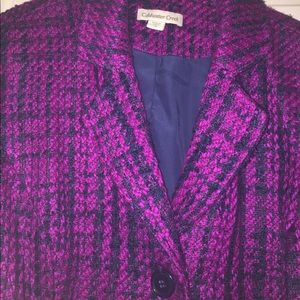 Cold water creek double lined blazer
