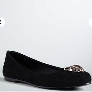 1c82b7d9b6b torrid Shoes - 🆕 Torrid Wide Width Jaguar Almond Toe Flats