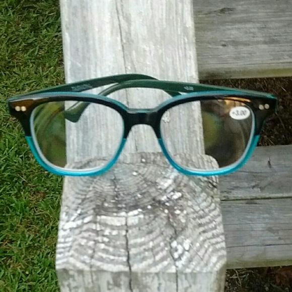 Tashon Accessories Reader Reading Glasses 300 Blk Blue