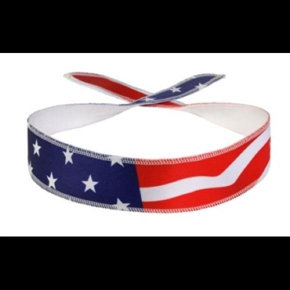 Accessories - American Flag Athletic Headband! fd54c6e622e