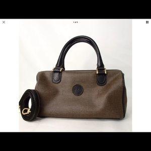 FENDI Vintage 2 way handbag PVC material