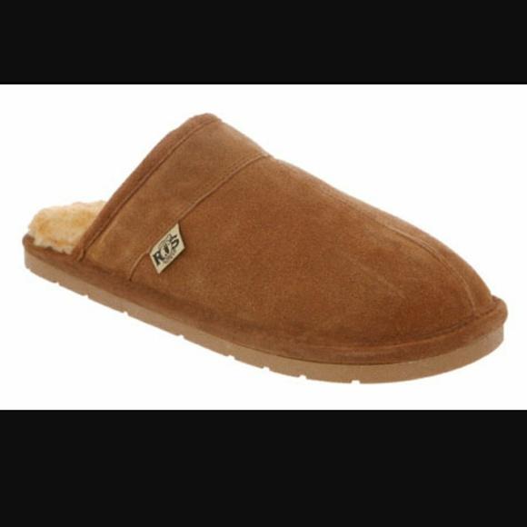 b9869cd93c3d50 Rj'S Fuzzies Shoes | Rjs Fuzzies Sheepskin Slippers Mens Scuff ...