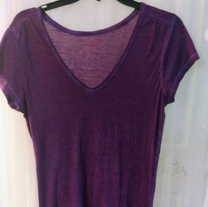 American Eagle Purple top