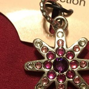 Jewelry - Charm Bracelet Charm NWT Star shaped w/color gems