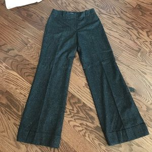 Loft Ann Taylor wool blend Julie wide leg  pants