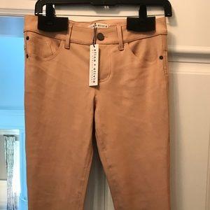 Alice & Olivia leather pants. Brand new!!!